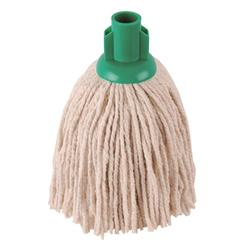 Robert Scott & Sons Socket Mop for Smooth Surfaces PY 12oz Green Ref 101870GREEN [Pack 10]