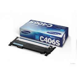 Originale Samsung CLT-C406S/ELS Toner - Ciano