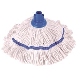 Robert Scott & Sons Hygiemix T1 Socket Mop Cotton & Synthetic Yarn Colour-coded 250g Blue Ref 103064BLUE