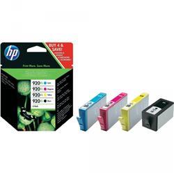 Originale HP C2N92AE Combo pack - Cartuccia 920XL - Nero+Ciano+Magenta+Giallo