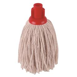 Robert Scott & Sons Socket Mop for Smooth Surfaces PY 12oz Red Ref 101870RED [Pack 10]