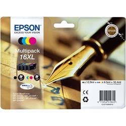 Originale Epson C13T16364010 - Conf. 4 cartucce inkjet A.R. SERIE 16XL - 4 colori multipack