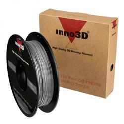 Inno3D PLA Filament for 3D Printer 1.75x200mm Silver Ref 3DPFP175SL05