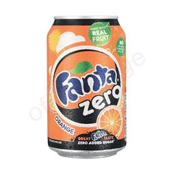 Fanta Zero Orange Drink Can 330ml Ref 0402039 [Pack 24]