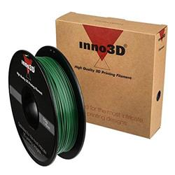 Inno3D ABS Filament for 3D Printer 1.75x200mm Dark Green Ref 3DPFA175SG05