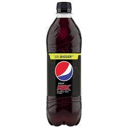 Pepsi Max Soft Drink Bottle 600ml Ref 200421 [Pack 24]