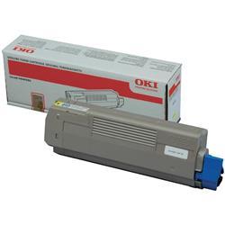 Originale OKI stampanti e multifunzione laser OKI - Toner - giallo - 6000 - 44315305