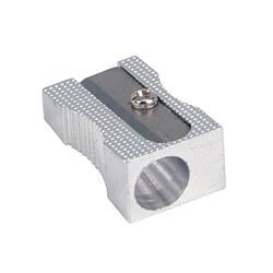 5 Star Office Sharpener Metal 1 Hole 8mm Diameter [Pack 1]