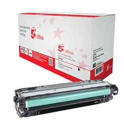 5 Star Office Remanufactured Laser Toner Cartridge Page Life 7000pp Black [HP 307A CE740A Alternative]