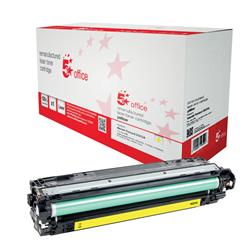 5 Star Office Remanufactured Laser Toner Cartridge Page Life 15000pp Yellow [HP 650A CE272A Alternative]
