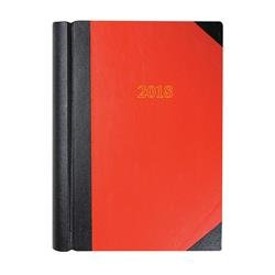 Collins 2018 Big Diary A4 2 Pages to a Day Red Ref 42 Red 2018