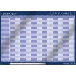 Collins 2018 Colplan Holiday Planner A1 with Activity Labels and Pen Ref CWC10 2018