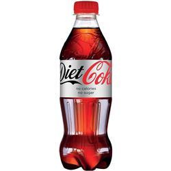 Coca-Cola Diet Coke Drink Bottle 500ml Ref 0402037 [Pack 24]