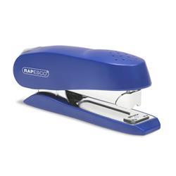 Rapesco Luna Stapler Half Strip Throat 72mm Blue Ref 0237