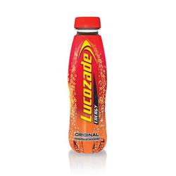 Lucozade Original Drink Bottle 380ml Ref 40043 [Pack 24]
