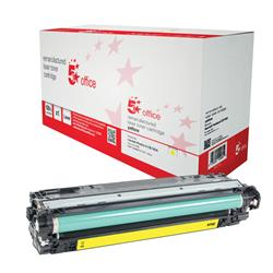 5 Star Office Remanufactured Laser Toner Cartridge Page Life 7300pp Yellow [HP 307A CE742A Alternative]