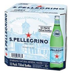 San Pellegrino Sparking Water 750ml Ref 0201017 [Pack 12]