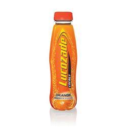 Lucozade Orange Drink Bottle 380ml Ref 40016 [Pack 24]