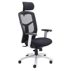 Fonz Mesh Chair - Black Ref CH0730