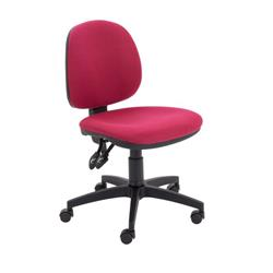 Concept Mid Back Chair - Claret Ref CH0803CL