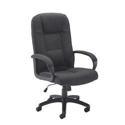 Keno Fabric Chair - Charcoal Ref CH0137CH