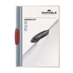 Cartelline Swingclip® Durable - rosso - A4