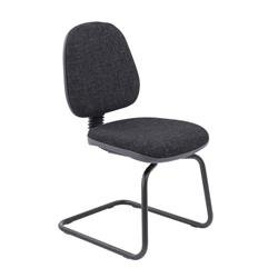 Zoom Visitor Chair - Charcoal Ref CH0710CH