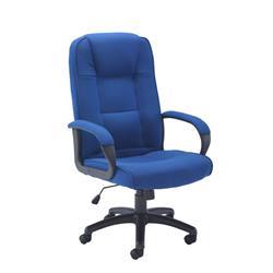 Keno Fabric Chair - Royal Blue Ref CH0137RB
