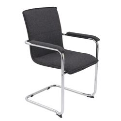 Pavia Fabric Chair - Charcoal Ref CH3235CH