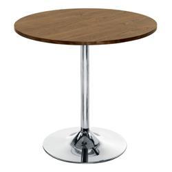 Ellipse 800 Trumpet Base Table - Walnut Ref CH0676WA