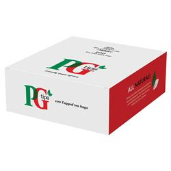 PG Tips Tea String and Tag Bags Ref 1004539 - Pack 100