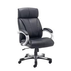 Cronos Heavy Duty Executive Chair - Black Leather Ref CH3208