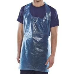 Click Once Disposable Apron 107x69mm Blue Ref DAB42DP [Pack 1000]