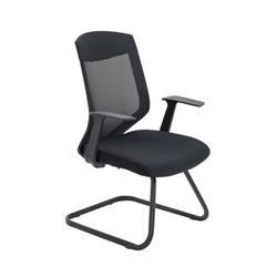 Vogue Medium Back Cantilever Chair - Black Ref CH2623BK