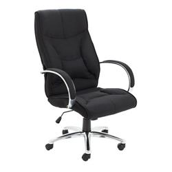 Whist Fabric Chair - Black Ref CH3206BK