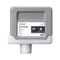 Canon PFI-302BK (Black) Pigment Ink Tank 330ml