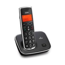 Telefono cordless Brondi - nero/grigio