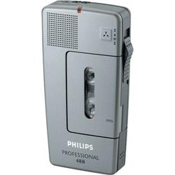 Pocket Memo 488 Philips - argento