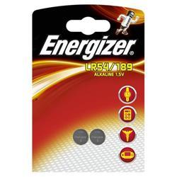 Energizer Alkaline LR54 Button Cell Battery 1.5V Ref LR54 189 FSB-2 [Pack 2]