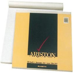 Blocchi Ariston Blasetti - A4 - bianco - 70 fogli - conf. 10