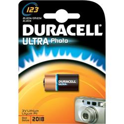 Pile 123 Duracell Ultra M3 - Photo - 3 Volt - blister