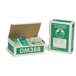 Kit reintegro Pronto Soccorso 3 persone Pharma Shield - oltre 2 - DM388