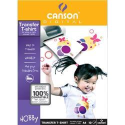 T-Shirt transfer Canson - A4 - 140 g/mq - conf. 10