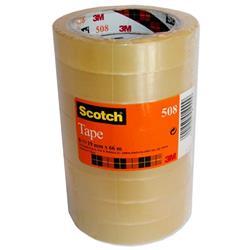 Nastro trasparente Scotch® 508 - 19 mm x 66 m - conf. 8