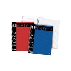 Blocchi Liberty Pigna - A4 - quadretti 5 mm - rosso