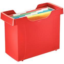 Archivio per cartelle sospese Leitz Plus - rosso papavero