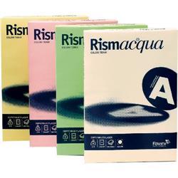 Cartoncino colorato Rismacqua Favini - A4 200 g/mq - avorio - conf. 125