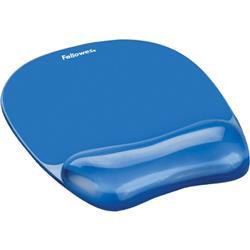 Mouse pad con poggiapolsi in gel trasparente Fellowes