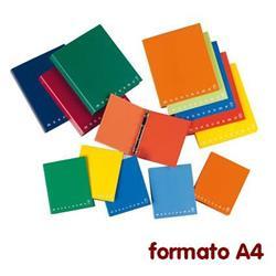 Quaderno ad anelli Monocromo Pigna - A4 - assortiti