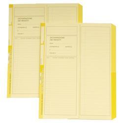 Cartelline dichiarazione redditi 4company - semplici - 32,5x25,5 cm - avorio - conf. 50